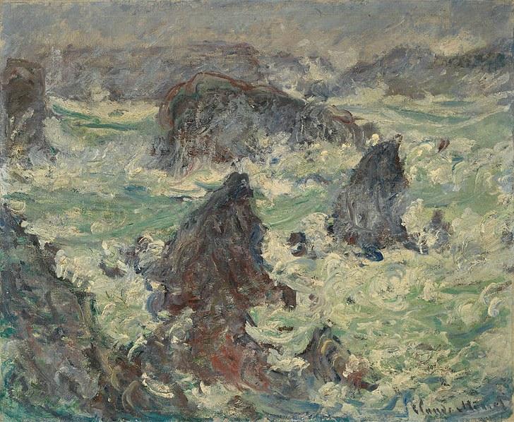 Source: Wiki Commons (http://commons.wikimedia.org/wiki/File:Claude_Monet_Temp%C3%AAte_sur_les_C%C3%B4tes_de_Belle-%C3%8Ele_1886.jpg)