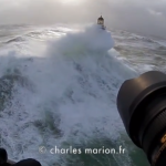 Manic Monday: Massive Waves Slamming into French Lighthouses