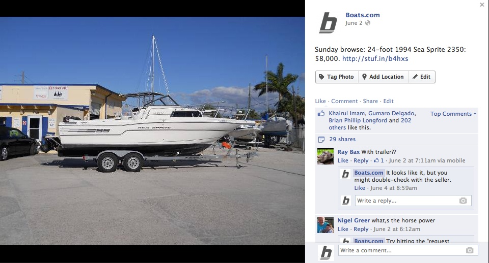 boats.com listings Sea Sprite