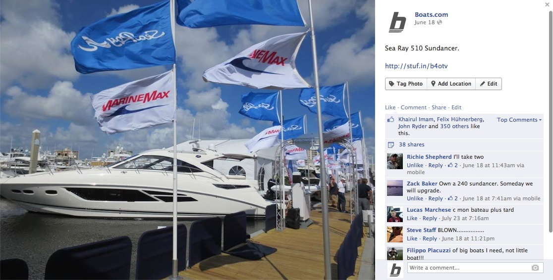 boats.com listings SeaRay