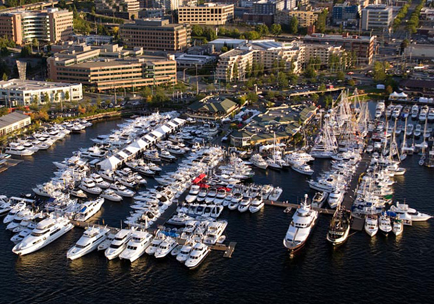 Lake Union Seattle Boat Show