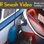Manic Monday Video: Skiff Smashed Between Two Boats