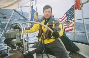 Stephen Colbert sailing