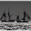 Tall Ships Battle at Sea