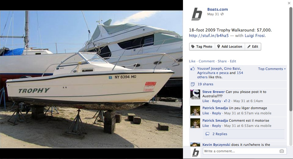 boats.com listings Trophy