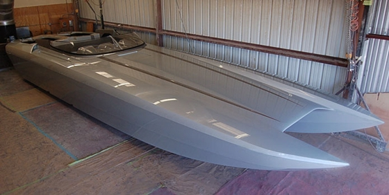 M41 catamaran