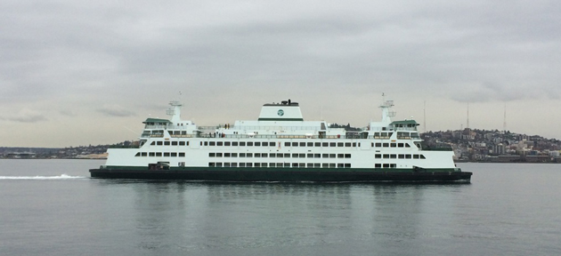 Washington ferry underway