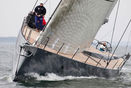 Aegir on sea trials.  Photo:  Billy Black