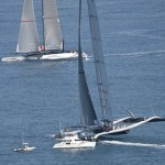 Winged Trimaran Wins First America's Cup Race