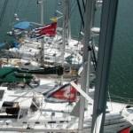 Beneteau Raft-up Turns into San Diego Sleep-over