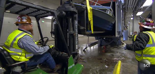 Manic Monday: Boat Crusher