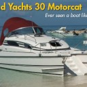 Bond Yachts 30 Motorcat: Never Seen a Boat Like This!