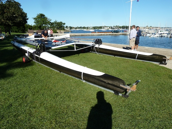 Canaan's carbon hulls are lightweight and low windage.