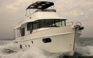 Also new at Cannes, is Beneteau's latest Swift trawler, the 50.