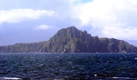 Cape Horn, off the tip of South America -- a notoriously difficult point to sail past.