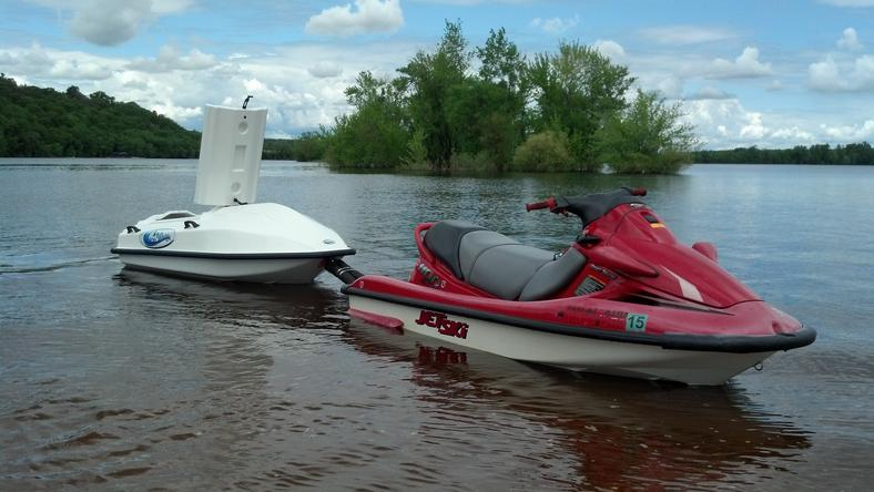 Cargo Wave Towable Storage For Your Personal Watercraft