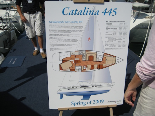 Catalina fans will see the new 445 later this year.