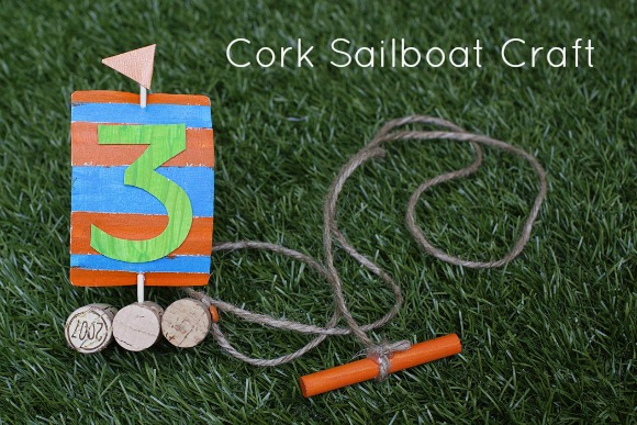 cork sailboats