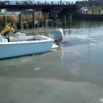 Desperate to Go Fishing: Busting Ice at the Marina