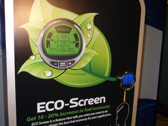 ECO Screen increases fuel economy for boaters
