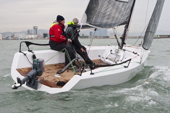 The all-carbon Esse 750 won the Special Yachts award.
