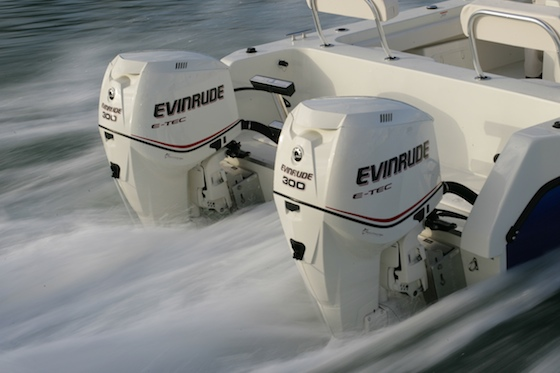 Rumor has it that Evinrude will introduce drive-by-wire controls for its 3.3-liter and 3.4-liter V6 model E-TECs at the Miami Boat Show, and possibly update the cowl design.