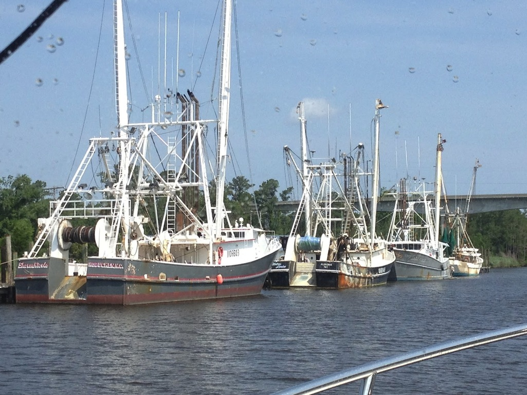 Intracoastal Waterway: Storms in Alligator River