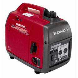 While Honda doesn't mention marine use on their website, this and many other portable generators are usually for sale at boat shows.