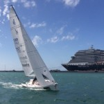 "J/70 ""boats.com"" Rigs Up for Key West Race Week"