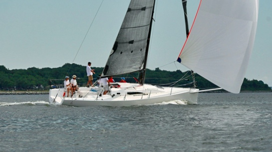 J/111 One-Design sailing under spinnaker