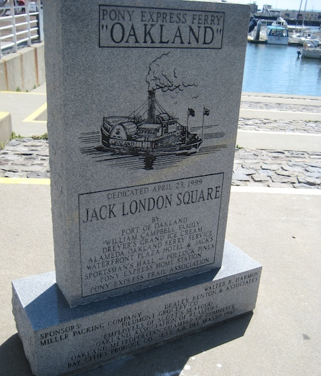 Jack London Square, in Oakland, is 10 years old next week.