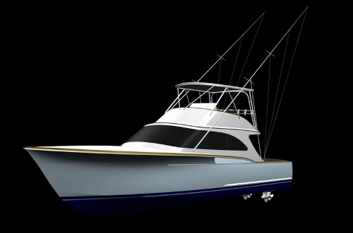 Jeff Burton played a significant role, when designing Jarrett Bay's new 46 custom convertible sportfishing boat.