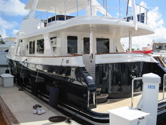 The new Selene 60 trawler yacht