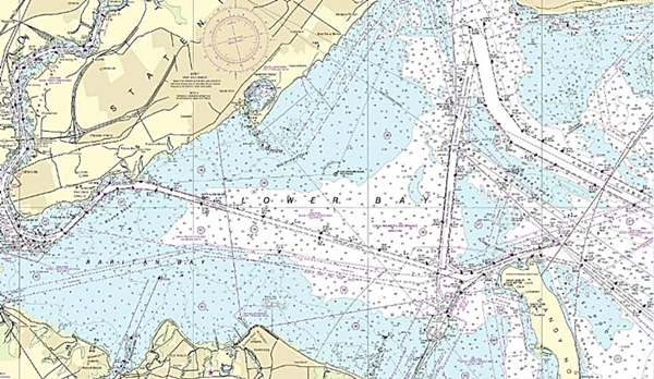 If you want to see the detail of lower New York harbor on a piece of paper, you'll need a printout.
