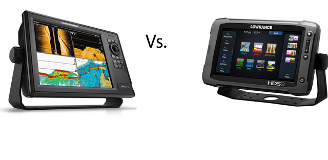 fishing friday: fish finder fight - lowrance versus humminbird, Fish Finder