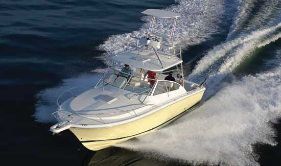 The new 30 Open, from Luhrs Sportfish.