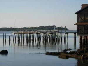 A dock at Cedar Key