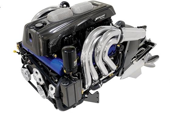 Mercury Racing introduced their new 565 EFI stern-drive engine.