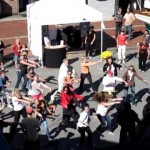 Video: Mob Dance at Newport Boat Show