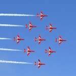Red Arrows Wow Showgoers at Monaco