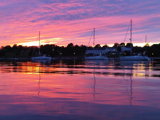 May 2010, Brenton Cove, Newport, Rhode Island