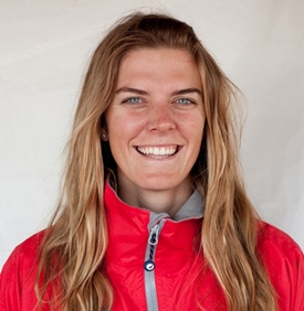 Olympic Laser Radial sailor Paige Railey. Photo courtesy USSailing.