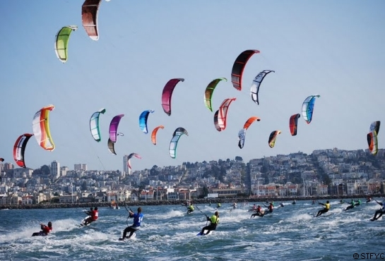 Kiteboarding will be considered instead of windsurfing for the 2016 Olympics.