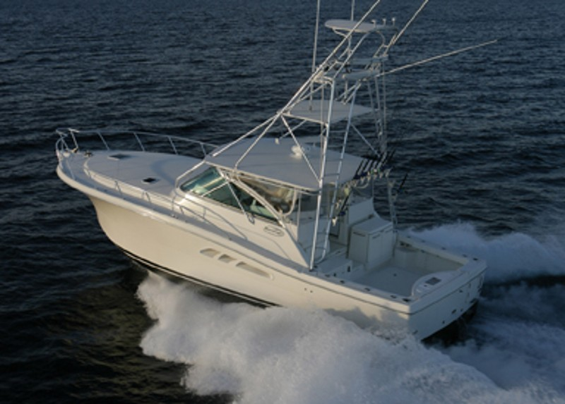 This Rampage sport fishing boat has many alternatives, making it highly customizable.