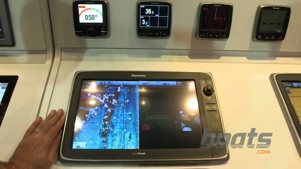 Raymarine HybridTouch: Slew to Cue