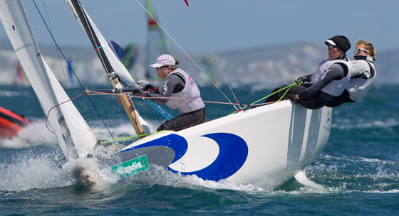 Anna Tunnicliffe's Team McLaren is one of three women's match racing teams vying for one spot at the 2012 Olympics.
