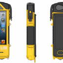 The SLXtreme case, pictured here for iPhone 5 models. It features an extra battery, solar panel, and rugged construction that helps keep your phone safe from the elements (and your own stupidity).