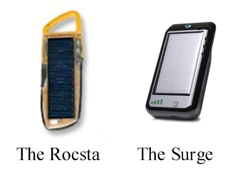 Solar chargers like these keep your gadgets going no matter how long you're at sea.