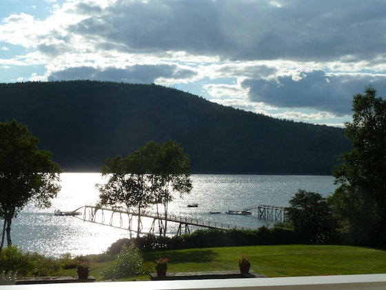 Late July, Somes Sound, Mount Desert, Maine - Almost sunset