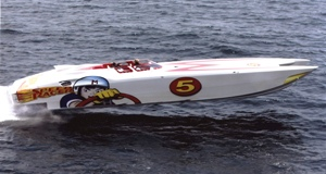 Speed Racer, 44 MTI catamaran